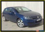 2005 Holden Astra CDX Blue Manual M Hatchback for Sale