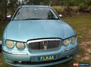 02 Rover 75 CONNOISSEUR Suitable for parts or Restoration. Good motor & G/box. for Sale