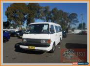 1993 Ford Econovan White Manual 5sp M Van for Sale