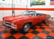 1972 Chevrolet Impala CONVERTIBLE for Sale