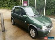 1999 VAUXHALL CORSA CLUB 16V AUTO GREEN for Sale