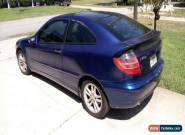 2002 Mercedes-Benz C-Class for Sale
