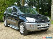Toyota RAV-4 2.0 D-4D GX 5 Door '02' only 82,000 miles in Black   for Sale