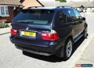 2004 BMW X5 SPORT D AUTO BLUE for Sale