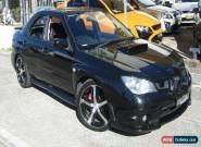 2006 Subaru Impreza MY07 WRX (AWD) Black Manual 5sp M Sedan for Sale
