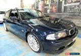 Classic 2002 BMW 325CI E46 MY2002 Steptronic Petrol Mica Automatic 5sp A Coupe for Sale