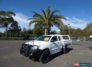 2010 Toyota Hilux KUN26R MY10 SR White Manual 5sp M 2D CAB CHASSIS for Sale
