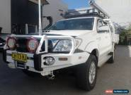 2010 Toyota Hilux SR5 White Manual 5sp M Dual Cab for Sale