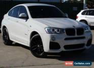 2016 BMW X4 F26 MY15 Auto 4x4 X4 xDrive20d  F26 MY15 Auto 4x4 White Wagon for Sale