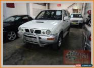 1999 Nissan Terrano II R20 TI (4x4) White Manual 5sp M Wagon for Sale