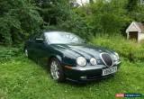 Classic 2001 JAGUAR S-TYPE V8 AUTO GREEN for Sale