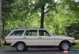 Classic Mercedes-Benz: 300-Series 300TD Wagon for Sale