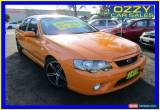 Classic 2006 Ford Falcon BF MkII XR6 Orange Manual 6sp M Sedan for Sale