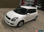 Suzuki Swift RE4 sports 2009 low 53km 5spd damaged repairable drives for Sale