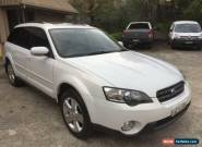 2004 Subaru Outback B4A MY04 R PREMIUM PACK White Automatic 5sp A Wagon for Sale