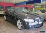 2007 BMW 325I E90 07 Upgrade Black Automatic 6sp A Sedan for Sale