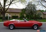 Classic 1972 Ford Mustang CONVERTIBLE for Sale