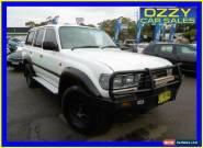 1997 Toyota Landcruiser GXL (4x4) White Manual 5sp M Wagon for Sale