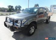 2008 Nissan Navara D40 RX King Cab Grey Manual 6sp M Cab Chassis for Sale