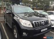2012 Toyota Landcruiser Prado KDJ150R Altitude Black Automatic 5sp A Wagon for Sale