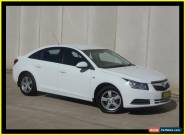 2010 Holden Cruze JG CD White Automatic 6sp A Sedan for Sale