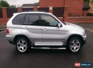 BMW X5 SPORT AUTO SILVER for Sale