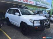 2010 Toyota Landcruiser VDJ200R 09 Upgrade GXL (4x4) White Automatic 6sp A for Sale