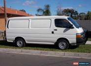 toyota hiace diesel lwb van big $$ spent on full rebuild  the best you will find for Sale