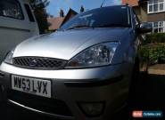 Ford Focus Zetec Estate 1.6 Petrol for Sale