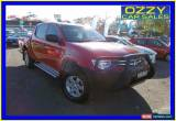 Classic 2012 Mitsubishi Triton MN MY12 GLX (4x4) Red Manual 5sp M Dual Cab Utility for Sale