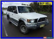 1993 Mitsubishi Pajero NJ GLS LWB (4x4) White Automatic 4sp A Wagon for Sale