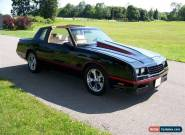 1988 Chevrolet Monte Carlo ss   for Sale