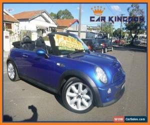 Classic 2005 Mini Cooper R52 S Cabrio Manual 6sp M Cabriolet for Sale