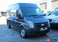 2007 Ford Transit VM MID ROOF LWB Charcoal Manual M Van for Sale