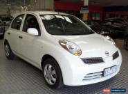 2010 Nissan Micra K12 White Automatic 4sp A Hatchback for Sale