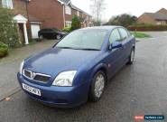 2002 VAUXHALL VECTRA LS 16V AUTO / AUTOMATIC BLUE 5 DOOR SALOON for Sale
