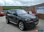 2007 BMW X5 SE 7S 3.0D AUTO BLACK, FULLY LOADED, 127,000 MILES FSH 7 SEATER  for Sale