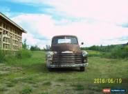 1952 Chevrolet Other Pickups uses splash oiler system for Sale