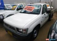 2001 Toyota Hilux RZN154R White Manual 5sp M Extracab for Sale