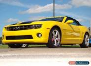 2012 Chevrolet Camaro 2SS for Sale