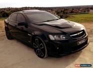 '2007 VE SS V V8 Holden Commodore Sedan Black for Sale