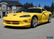 2001 Dodge Viper for Sale