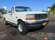 1990 Ford F150 White Automatic A Utility for Sale