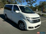 2004 Nissan Elgrand E51 V Navagation White Automatic 5sp A Wagon for Sale