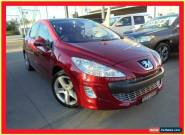 2010 Peugeot 308 T7 XTE Burgundy Automatic 4sp A Hatchback for Sale