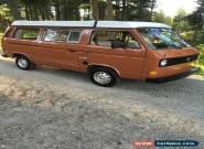 1980 Volkswagen Bus/Vanagon for Sale
