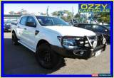 Classic 2013 Ford Ranger PX XL 3.2 (4x4) White Manual 6sp M Dual Cab Utility for Sale