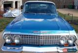 Classic 1963 Chevrolet Impala SS for Sale