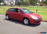 2007 Citroen C4 SX 1.6 HDI EGS Burgundy Automatic 6sp A Hatchback for Sale