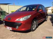 2006 Peugeot 307 Diesel HDi Red Automatic 6sp A Hatchback for Sale